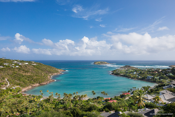 The view from Villa WV MLA (Milonga) at St. Barthelemy, Marigot, Family-Friendly Villa, Pool, 4 Bedrooms, 4 Bathrooms, WiFi, WIMCO Villas