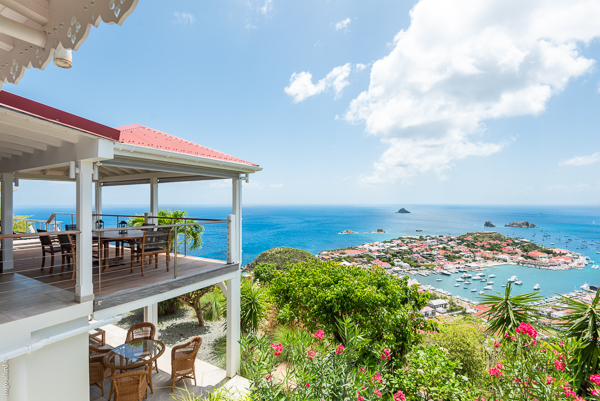 The view from Villa WV MOU (Ti Moun) at St. Barthelemy, Lurin, Family-Friendly Villa, Pool, 3 Bedrooms, 3 Bathrooms, WiFi, WIMCO Villas