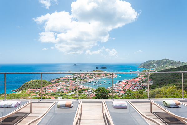 The view from WIMCO Villa WV MOU (Villa Ti Moun) at Lurin, St. Barthelemy