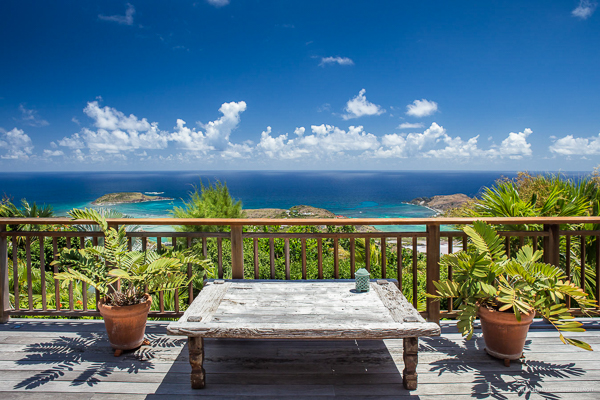 The view from Villa WV NAM (Nahma) at St. Barthelemy, Vitet, Family-Friendly Villa, Pool, 4 Bedrooms, 4 Bathrooms, WiFi, WIMCO Villas