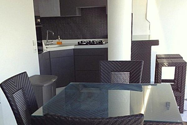 Kitchen at Villa WV NAO (Gouverneur Jewel) at St. Barthelemy, Gouverneur, Pool, 1 Bedrooms, 1 Bathrooms, WiFi, WIMCO Villas