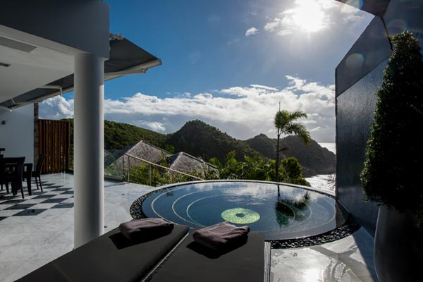 Villa Pool at Villa WV NAO (Gouverneur Jewel) at St. Barthelemy, Gouverneur, Pool, 1 Bedrooms, 1 Bathrooms, WiFi, WIMCO Villas