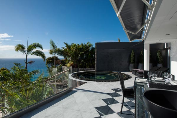 Terrace at Villa WV NAO (Gouverneur Jewel) at St. Barthelemy, Gouverneur, Pool, 1 Bedrooms, 1 Bathrooms, WiFi, WIMCO Villas