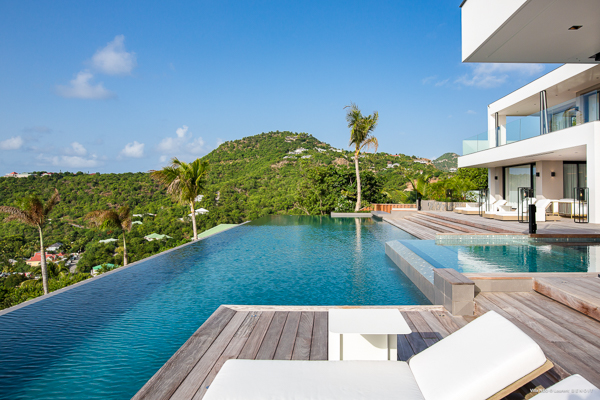 Villa Pool at Villa WV NEO (Neo) at St. Barthelemy, St. Jean, Family-Friendly Villa, Pool, 6 Bedrooms, 6 Bathrooms, WiFi, WIMCO Villas
