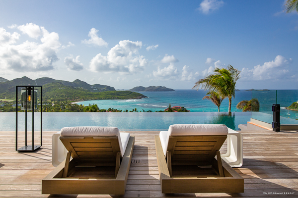 The view from Villa WV NEO (Neo) at St. Barthelemy, St. Jean, Family-Friendly Villa, Pool, 6 Bedrooms, 6 Bathrooms, WiFi, WIMCO Villas