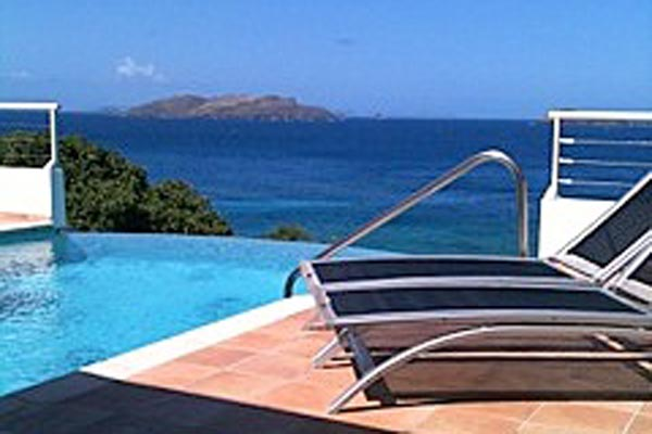 The view from Villa WV PAF (Villa Parsifal) at St. Barthelemy, Pointe Milou, Family-Friendly Villa, Pool, 1 Bedrooms, 1 Bathrooms, WiFi, WIMCO Villas