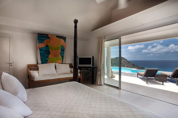 Villa WV REF (Gouverneur View) at St. Barthelemy, Gouverneur, Family-Friendly Villa, Pool, 2 Bedrooms, 2 Bathrooms, WiFi, WIMCO Villas