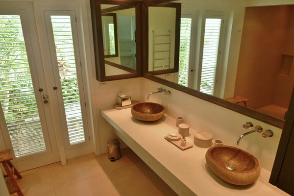 Bathroom at Villa WV RGR (Isabella) at St. Barthelemy, St. Jean, Family-Friendly Villa, Pool, 4 Bedrooms, 4 Bathrooms, WiFi, WIMCO Villas