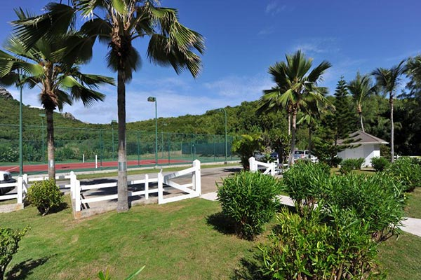 The view from Villa WV RLD1 (Dahouet) at St. Barthelemy, St. Jean Beach, 1 Bedrooms, 2 Bathrooms, WiFi, WIMCO Villas
