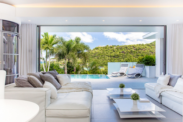 Living Room at WIMCO Villa WV SAX (SAX) at St. Jean, St. Barthelemy