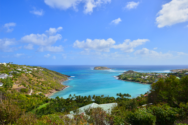 The view from Villa WV SCA at St. Barthelemy, Marigot, Family-Friendly Villa, Pool, 3 Bedrooms, 3 Bathrooms, WiFi, WIMCO Villas
