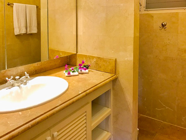Bathroom at Villa WV SET (View Star) at St. Barthelemy, Gustavia, Pool, 1 Bedrooms, 1 Bathrooms, WiFi, WIMCO Villas