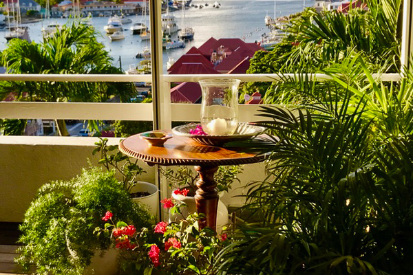 Deck at Villa WV SET (View Star) at St. Barthelemy, Gustavia, Pool, 1 Bedrooms, 1 Bathrooms, WiFi, WIMCO Villas