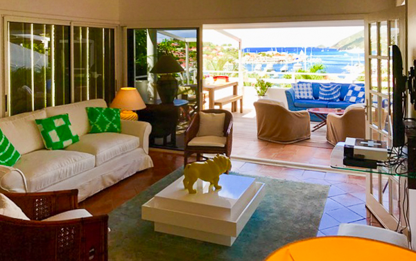 Living Room at Villa WV SET (View Star) at St. Barthelemy, Gustavia, Pool, 1 Bedrooms, 1 Bathrooms, WiFi, WIMCO Villas