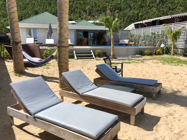 Beach at Villa WV VMG (Ecoute Les Vagues) at St. Barthelemy, Flamands Beach, Family-Friendly Villa, Pool, 3 Bedrooms, 2 Bathrooms, WiFi, WIMCO Villas