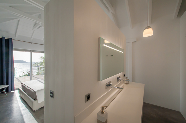 Bathroom at WIMCO Villa WV VPM (POINTE MILOU) at Pointe Milou, St. Barthelemy