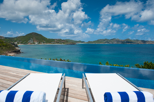The view from WIMCO Villa WV VPM (POINTE MILOU) at Pointe Milou, St. Barthelemy