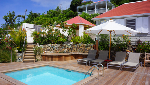 Villa Pool at WIMCO Villa WV BAL (La Baleine) at Colombier, St. Barthelemy