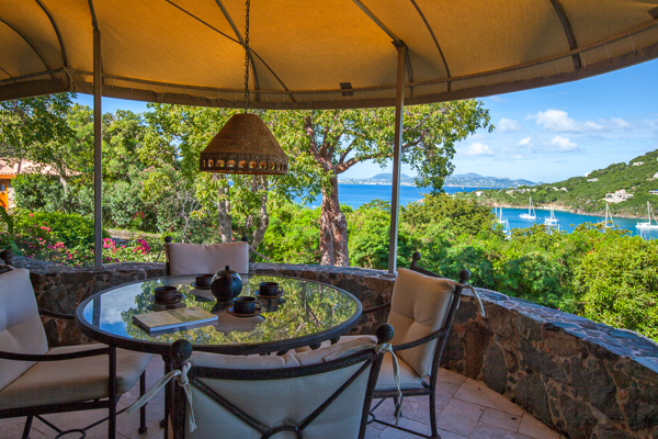 The view from WIMCO Villa CT ERO (Estate Rose) at Chocolate Hole, St. John