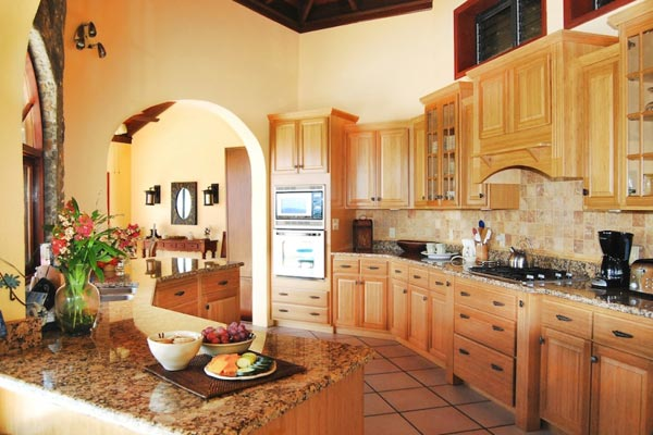 Kitchen at Villa CT MOR (Morningside) at St. John, Rendezvous Bay, Family-Friendly Villa, Pool, 4 Bedrooms, 4 Bathrooms, WiFi, WIMCO Villas