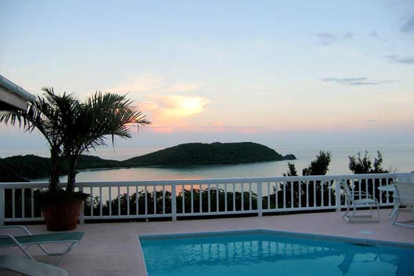 The view from Villa CT MOR (Morningside) at St. John, Rendezvous Bay, Family-Friendly Villa, Pool, 4 Bedrooms, 4 Bathrooms, WiFi, WIMCO Villas