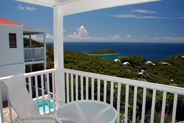 The view from Villa CT SOL (Solaris) at St. John, Chocolate Hole, Family-Friendly Villa, Pool, 4 Bedrooms, 4 Bathrooms, WiFi, WIMCO Villas