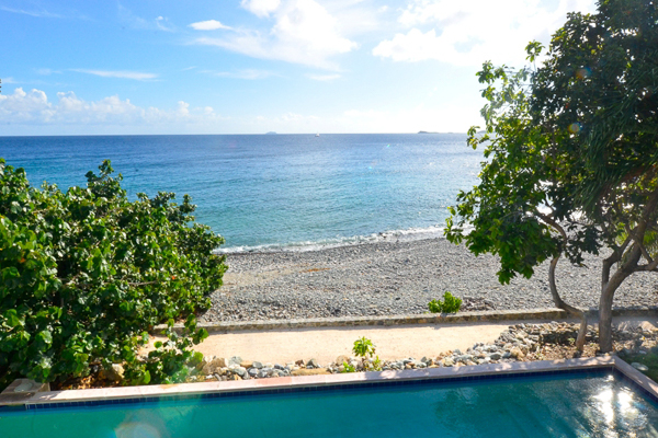 The view from Villa CT SUN (Sunset Beach) at St. John, Chocolate Hole, Family-Friendly Villa, Pool, 4 Bedrooms, 4 Bathrooms, WiFi, WIMCO Villas