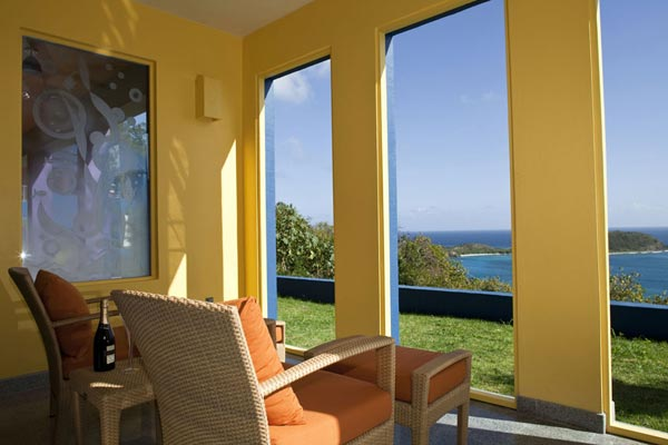 The view from Villa MAS MBL (Mare Blu) at St. John, Rendezvous Bay, Family-Friendly Villa, Pool, 6 Bedrooms, 8 Bathrooms, WiFi, WIMCO Villas