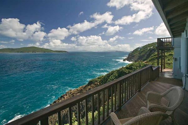 The view from Villa MA GAT (Stargate) at St. Thomas, Magens Bay, Family-Friendly Villa, Pool, 3 Bedrooms, 4 Bathrooms, WiFi, WIMCO Villas