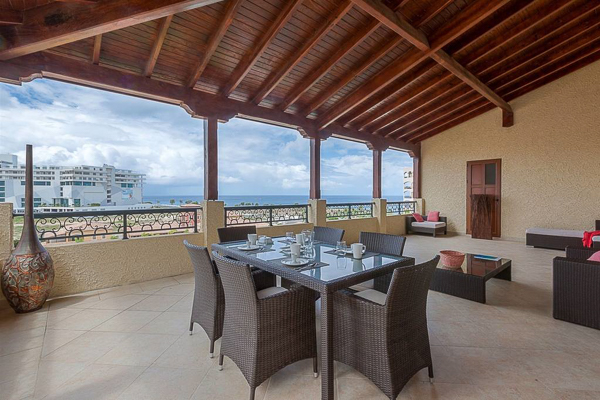 Dining Room at Villa PIE CAR (Caribbean Pearl) at St. Martin, Beachfront/Cupecoy, Family-Friendly Villa, Pool, 2 Bedrooms, 2 Bathrooms, WiFi, WIMCO Villas