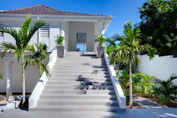 Exterior of Villa PIE LOR (La Perla Bianca) at St. Martin, Beach Side/Baie Rouge, Family-Friendly Villa, Pool, 1 Bedrooms, 1 Bathrooms, WiFi, WIMCO Villas
