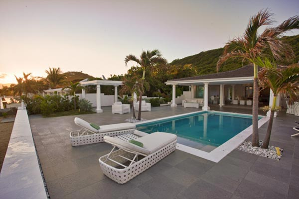 Villa Pool at Villa PIE LOR (La Perla Bianca) at St. Martin, Beach Side/Baie Rouge, Family-Friendly Villa, Pool, 1 Bedrooms, 1 Bathrooms, WiFi, WIMCO Villas