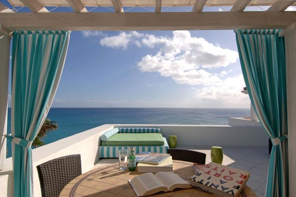 Terrace at Villa SMA 3BD (Bluff 3 Bedroom Villa at La Samanna) at St. Martin, Beach Side/Baie Longue, Family-Friendly Villa, Pool, 3 Bedrooms, 3 Bathrooms, WiFi, WIMCO Villas