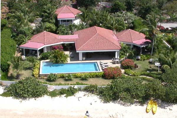 Beach at Villa VG FAN (Sea Fans) at Virgin Gorda, Beachside Mahoe Bay, Family-Friendly Villa, Pool, 4 Bedrooms, 4 Bathrooms, WiFi, WIMCO Villas