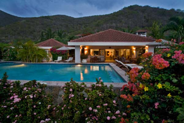 Exterior of Villa VG FAN (Sea Fans) at Virgin Gorda, Beachside Mahoe Bay, Family-Friendly Villa, Pool, 4 Bedrooms, 4 Bathrooms, WiFi, WIMCO Villas