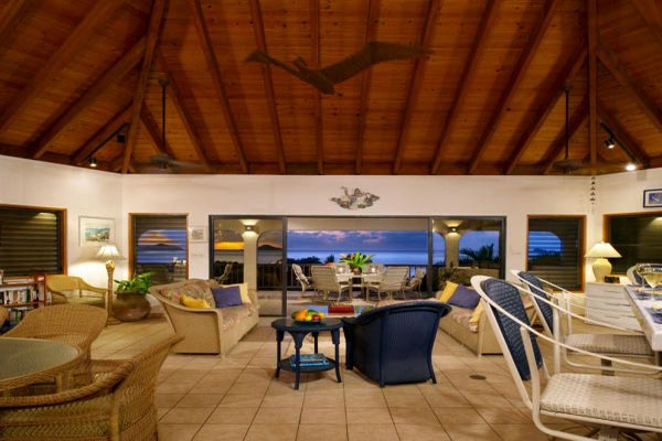 Living Room at Villa VG LOB (Loblolly) at Virgin Gorda, Walk/Mahoe Bay, Family-Friendly Villa, Pool, 6 Bedrooms, 6 Bathrooms, WiFi, WIMCO Villas