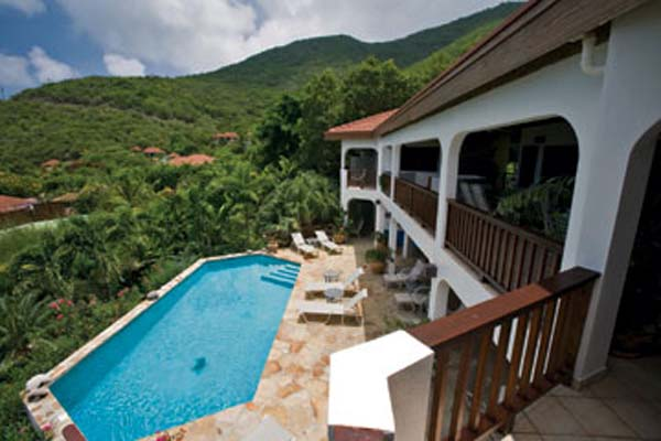 Villa Pool at Villa VG LOB (Loblolly) at Virgin Gorda, Walk/Mahoe Bay, Family-Friendly Villa, Pool, 6 Bedrooms, 6 Bathrooms, WiFi, WIMCO Villas