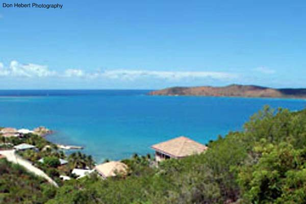 The view from Villa VG SDR (Sea Dream) at Virgin Gorda, Hillside Leverick Bay, Family-Friendly Villa, Pool, 3 Bedrooms, 2 Bathrooms, WiFi, WIMCO Villas