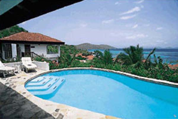 Villa Pool at Villa VG VAL (Valmarc) at Virgin Gorda, Walk/Mahoe Bay, Family-Friendly Villa, Pool, 4 Bedrooms, 4 Bathrooms, WiFi, WIMCO Villas