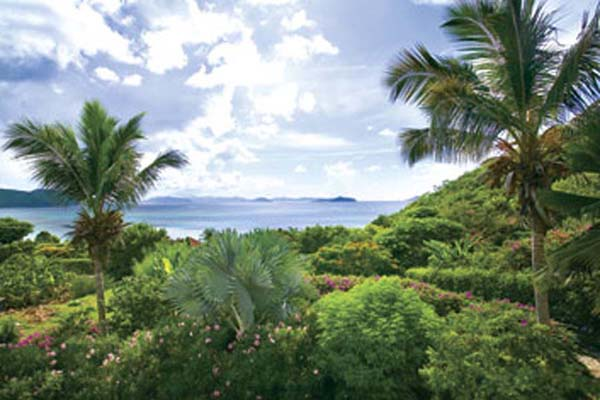 The view from Villa VG VAL (Valmarc) at Virgin Gorda, Walk/Mahoe Bay, Family-Friendly Villa, Pool, 4 Bedrooms, 4 Bathrooms, WiFi, WIMCO Villas