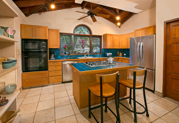 Kitchen at Villa VG BEL (Bellamare) at Virgin Gorda, Walk/Mahoe Bay, Family-Friendly Villa, Pool, 4 Bedrooms, 4 Bathrooms, WiFi, WIMCO Villas