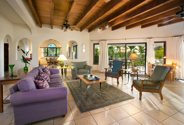 Living Room at Villa VG BEL (Bellamare) at Virgin Gorda, Walk/Mahoe Bay, Family-Friendly Villa, Pool, 4 Bedrooms, 4 Bathrooms, WiFi, WIMCO Villas