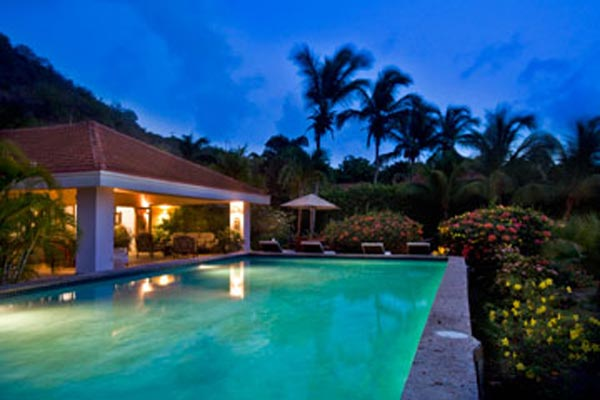 Villa Pool at Villa VG FAN (Sea Fans) at Virgin Gorda, Beachside Mahoe Bay, Family-Friendly Villa, Pool, 4 Bedrooms, 4 Bathrooms, WiFi, WIMCO Villas