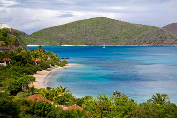 The view from Villa VG FAN (Sea Fans) at Virgin Gorda, Beachside Mahoe Bay, Family-Friendly Villa, Pool, 4 Bedrooms, 4 Bathrooms, WiFi, WIMCO Villas