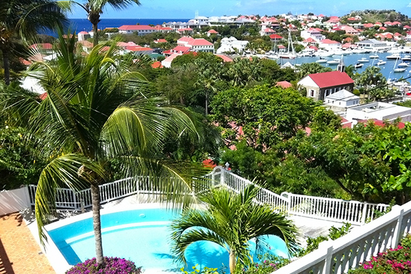 WIMCOsbh, Property for sale, WR CA3, Gustavia, 1 Bedroom, View from Villa