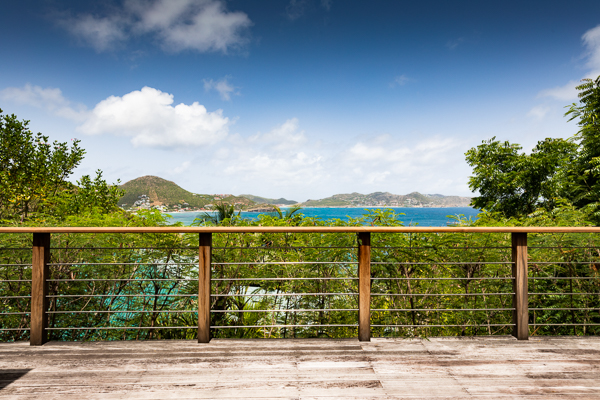 WIMCOsbh, Property for sale, WV CLV, Pointe Milou, 2 Bedroom, View from Villa