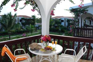 WIMCO Villas, Carimar Beach Club, Anguilla, Terrace, Book now with WIMCO Villas