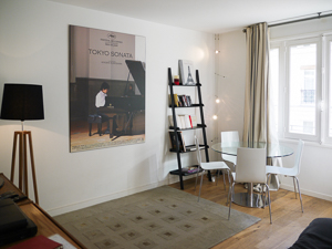 Interior at Villa YNF PIA (L`Appart du Pianiste) at Paris, France, Family-Friendly, No Pool, 1 Bedroom, 1 Bathroom, WiFi, WIMCO Villas, Available for the Holidays