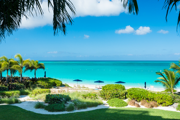 The view from Villa TC BIA1 (1 BR Oceanfront Condo at Bianca Sands) at Grace Bay/Beachside, Turks & Caicos, Family-Friendly, Pool, 1 Bedroom, 1 Bathroom, WiFi, WIMCO Villas