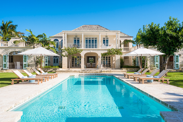 Turks & Caicos All-inclusive Villa with Staff Coral Pavilion